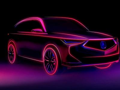 Acura готовит кроссовер MDX нового поколения