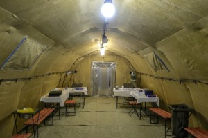 Россия отправила мобильные госпитали в Южную Осетию и Узбекистан