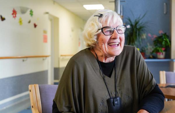 89-летняя Ийа о жизни в Ируском доме призрения