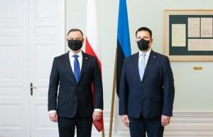 Rail Baltic, оборона и Беларусь: о чем говорили Ратас и Дуда