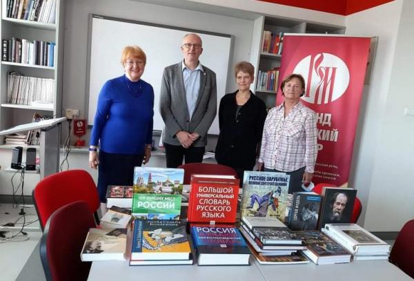 Библиотека Печского университета пополнилась новыми книгами на русском языке