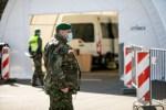 COVID-19 больны примерно 50 военных, служащих в разных подразделениях и городах