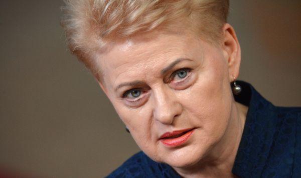 Экс-президент Д. Грибаускайте критикует власти за управление ковидным кризисом