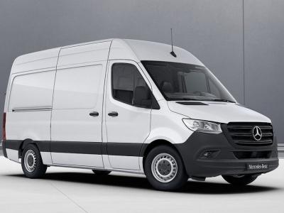 Mercedes-Benz показал новую версию грузовичка Sprinter Limited Edition