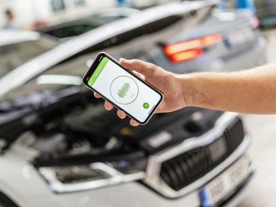 Skoda научилась определять неисправности в авто через смартфон