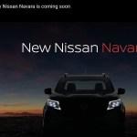 Тизер нового пикапа Nissan Navara показали в интернете