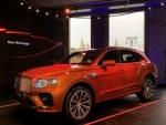 В России презентовали обновленный кроссовер Bentley Bentayga