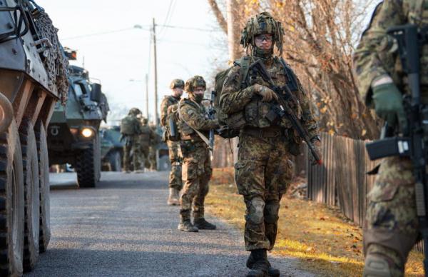 Эстонский взвод завершил подготовку к операции в Мали
