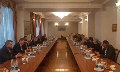 В Бишкеке прошла встреча российских дипломатов и соотечественников