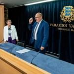 Президент освободила Марта Хельме от должности главы МВД