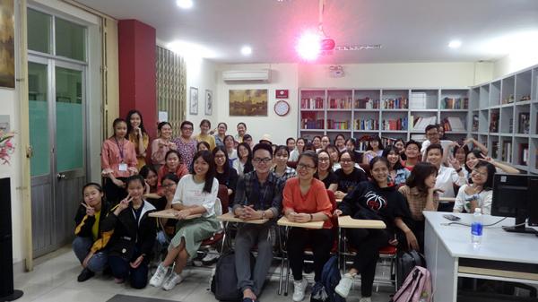 Вьетнамские первокурсники впервые посетили Русский центр