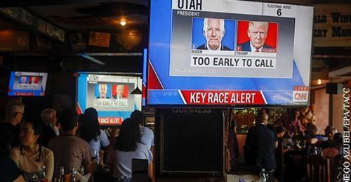 Трамп призвал остановить подсчет голосов на выборах