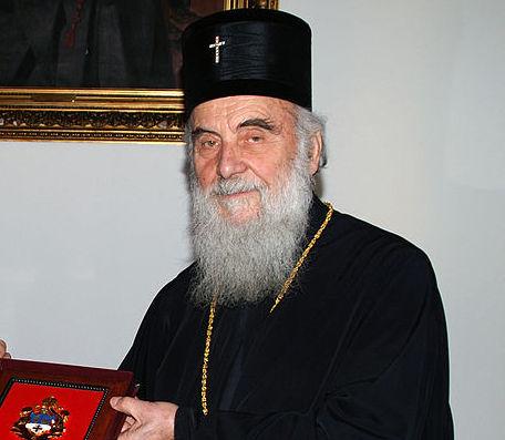 Скончался патриарх Сербский Ириней