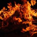 В Кохтла-Ярве при пожаре погиб мужчина