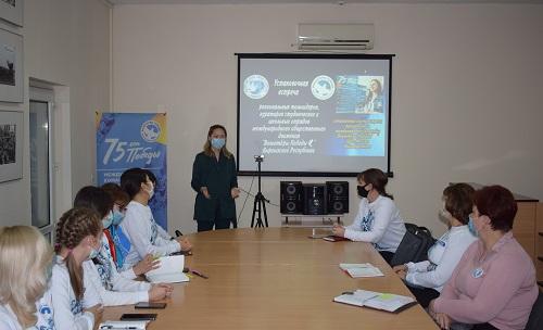 «Волонтеры Победы» Киргизии обсудили планы на 2021 год