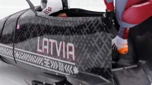 Экипаж-двойка Киберманиса занял второе место на третьем этапе Кубка мира