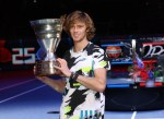 Российский теннисист Андрей Рублёв выиграл турнир в Вене