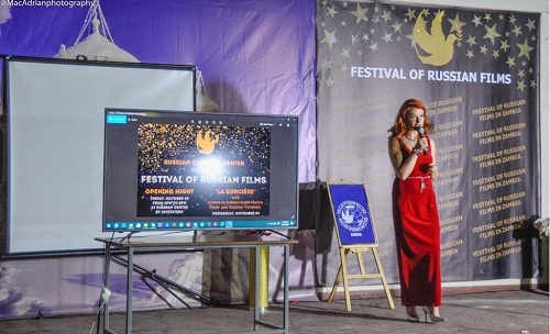 Первый фестиваль российского кино привлек внимание замбийцев и соотечественников