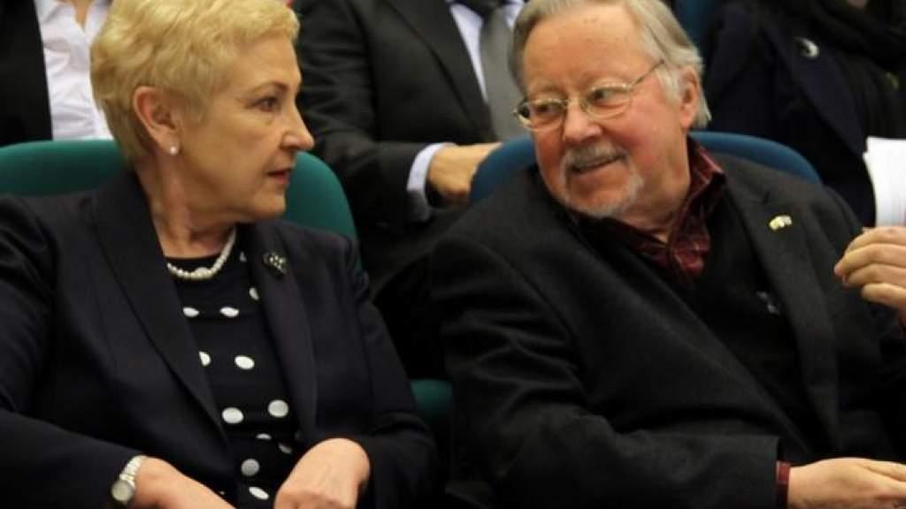 Экс-спикеру сейма И. Дегутене назначена государственная пенсия