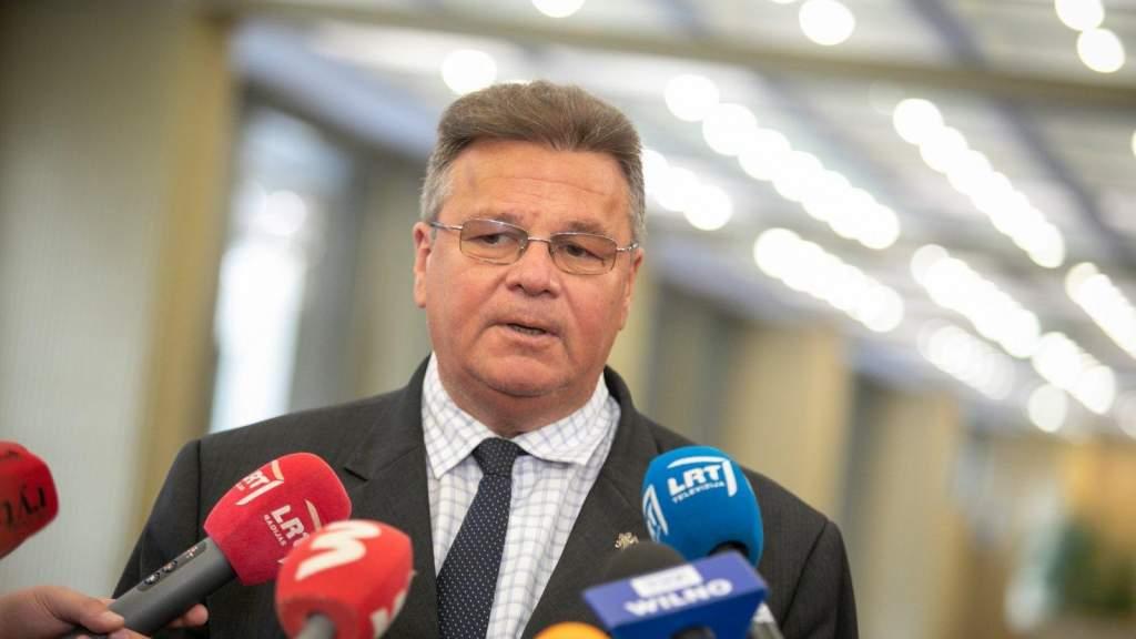 Глава МИД: Литва стремится ускорить введение новых санкций в отношении Беларуси