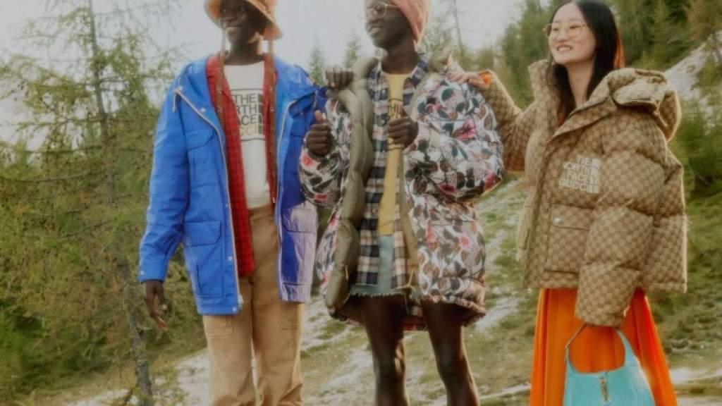 Коллаборация Gucci и The North Face. Стильная одежда для активного отдыха