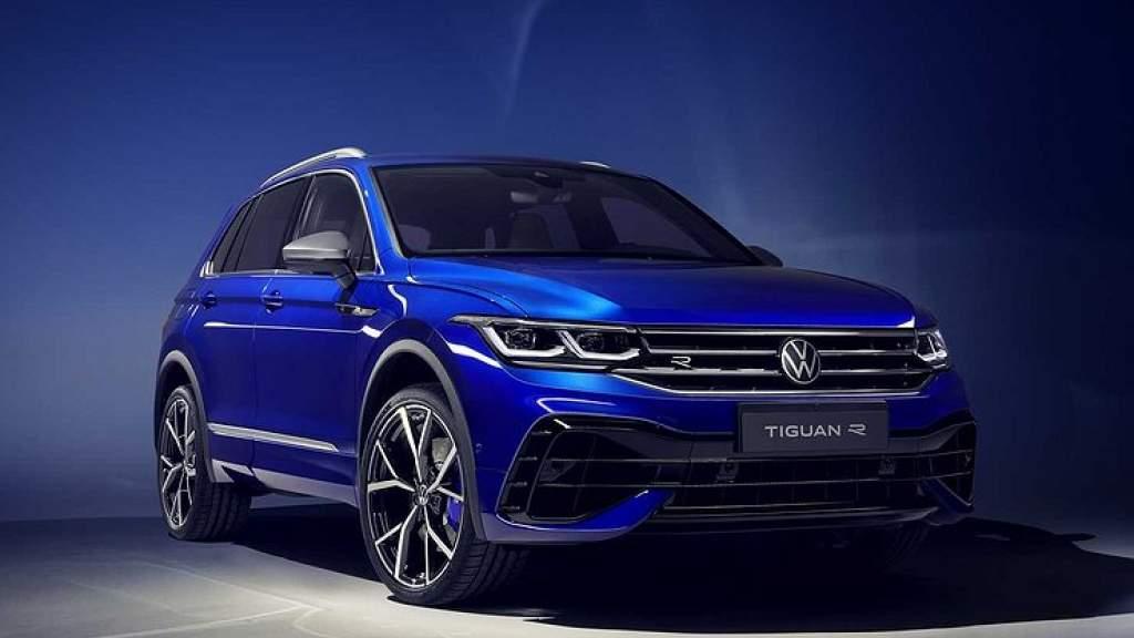 Новый Volkswagen Tiguan проверили «лосиным» тестом