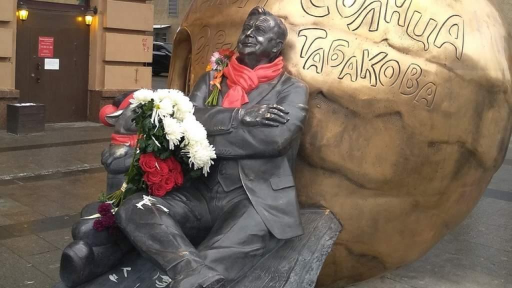 Памятник Олегу Табакову появился в Москве