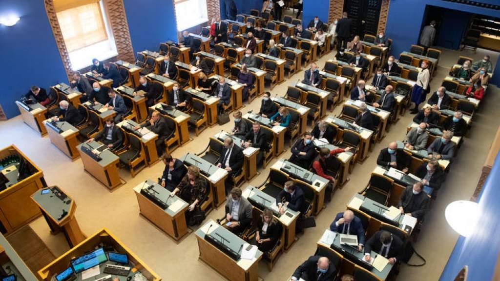 Рийгикогу принял государственный бюджет на следующий год
