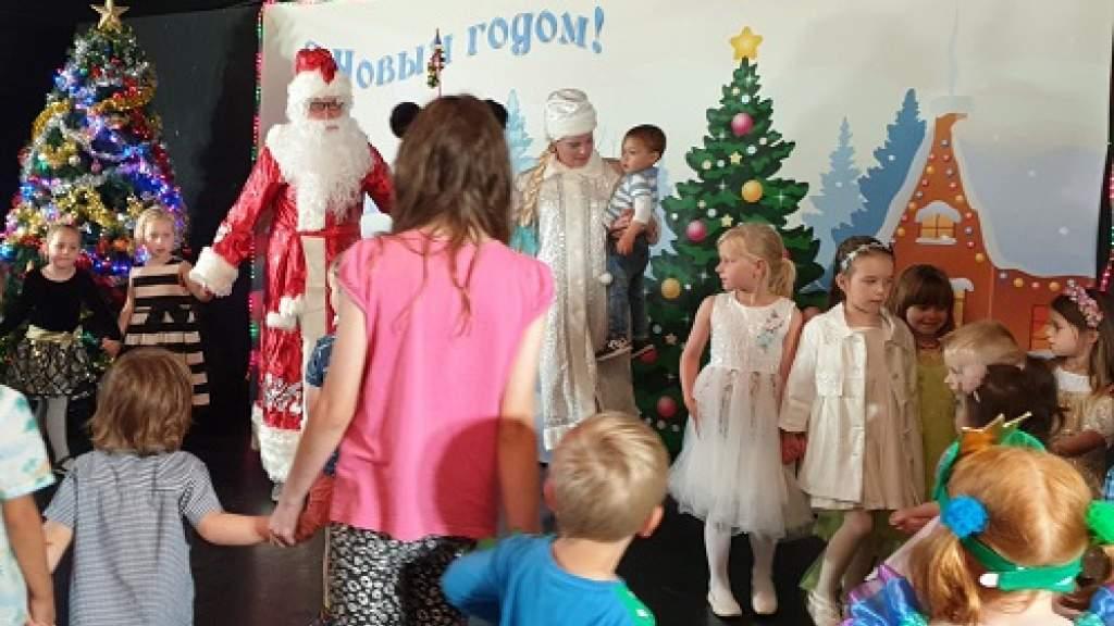 Русский клуб Веллингтона провел детский новогодний утренник