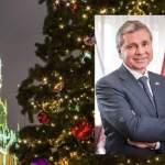 Сергей Черёмин поздравил соотечественников с наступающим Новым годом