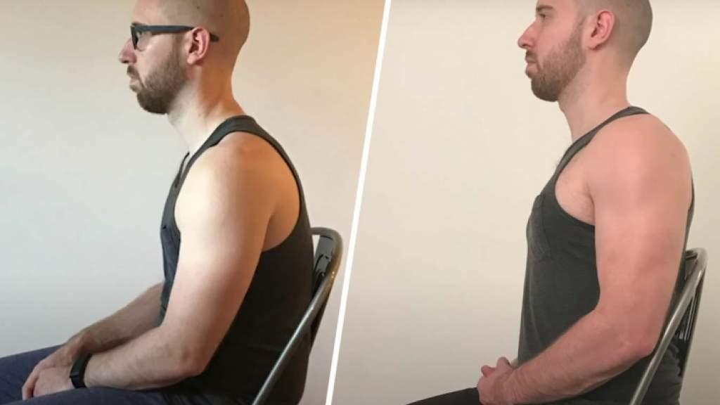 Упражнения для ровной спины. Как Брендон Джонс исправил осанку за 25 дней?