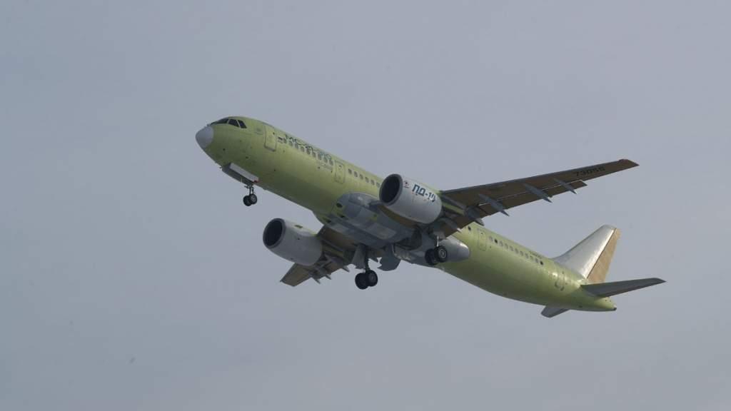 В Иркутске впервые запустили «самолёт XXI века» с российскими двигателями