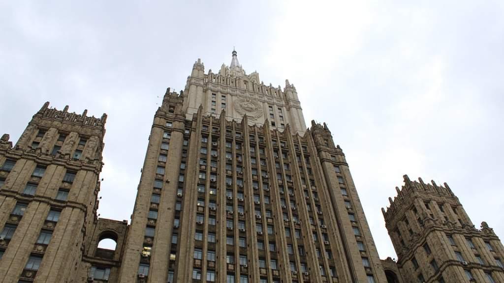 В МИД РФ выразили возмущение новыми антироссийскими санкциями