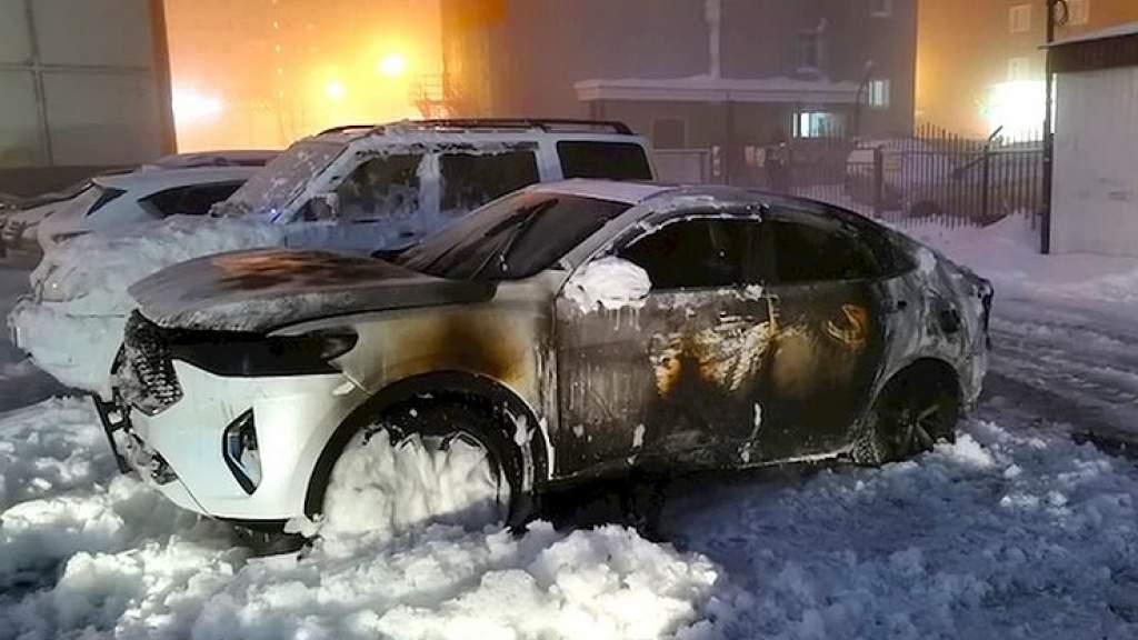 В России один за другим горят автомобили Haval