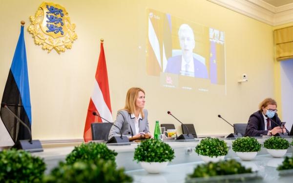 Каллас – Кариньшу: приоритет эстонского правительства – ускорение строительства Rail Baltic