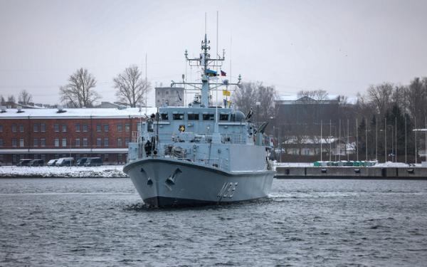 Тральщик Ugandi ВМС Эстонии пополнит боевую группу НАТО