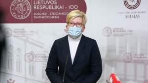 Премьер Литвы: Кабмин пока не будет рассматривать открытие магазинов