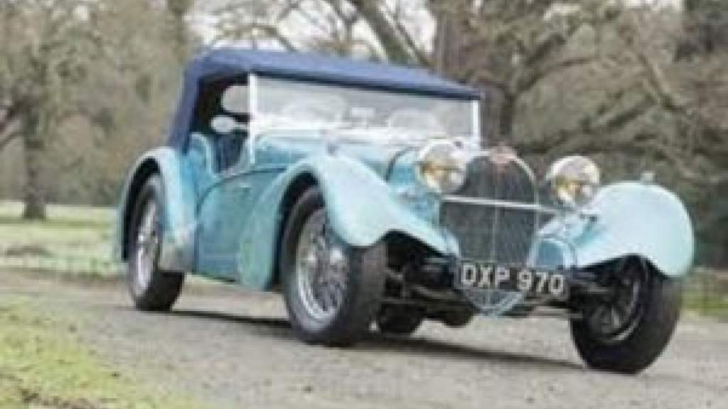 Редкий Bugatti Type 57S 1937 года может уйти с молотка за $9 млн
