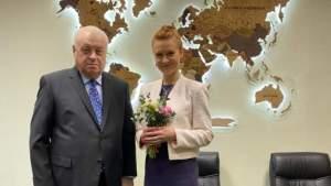 Состоялась встреча Исполнительного директора Фонда с Марией Бутиной