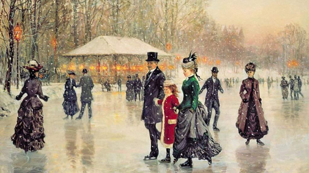 Старый Новый год: как отмечали праздник столетие назад