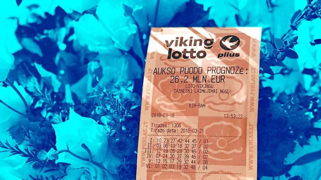 Бинго! Житель Вильнюса выиграл в Vikinglotto более 13 млн евро