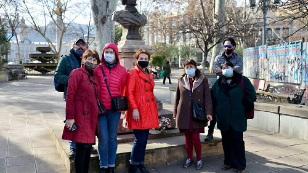 В Тбилиси почтили память Александра Пушкина