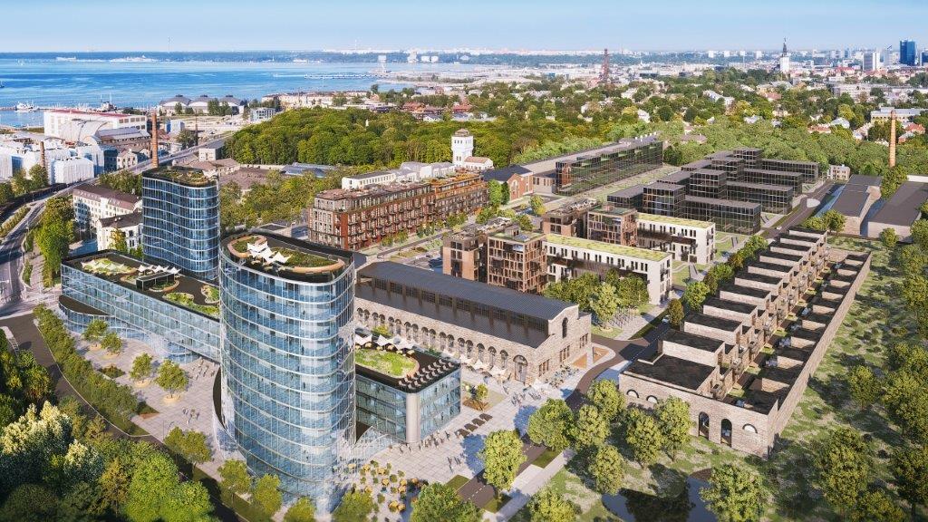Таллинский квартал Вольта обретет новый облик