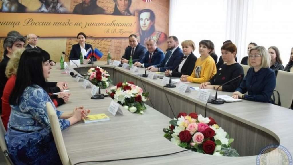 Кабинет Русского мира открылся на базе Луганского государственного педагогического университета