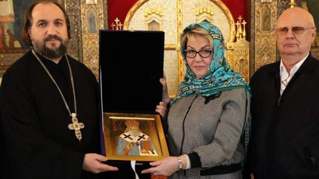 Посол в Болгарии Элеонора Митрофанова посетила Патриаршее подворье в Софии