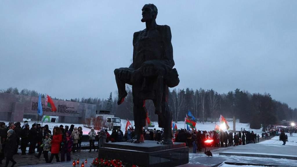 В Белоруссии прошли памятные мероприятия к годовщине хатынской трагедии