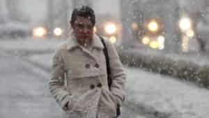 В четверг в Латвии похолодает и вновь выпадет снег