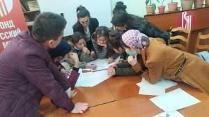 В Душанбе проходит конкурс «Знатоки русского языка»