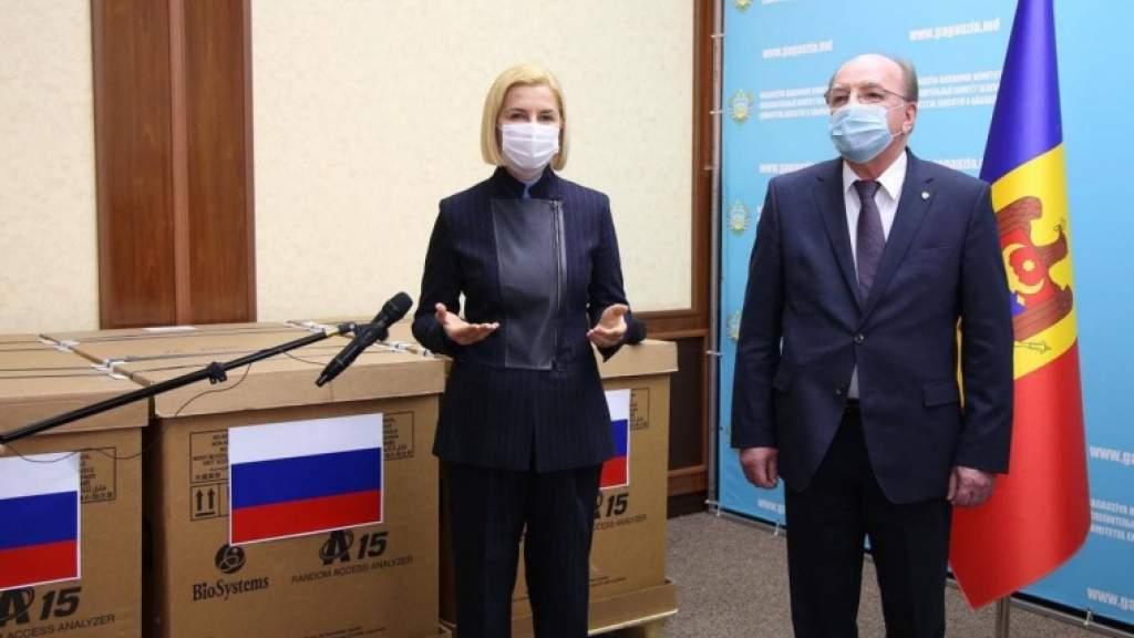 В медучреждения Гагаузии прибыл гуманитарный груз из России