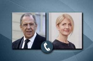 Министр иностранных дел РФ Лавров поговорил с Министром иностранных дел Эстонии